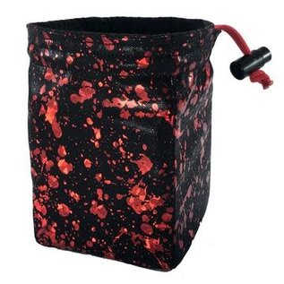 Red King Co Bloodbath Holographic Dice Bag