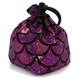 Magenta Mermaid Dice Bag