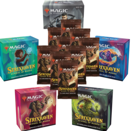 Strixhaven Prerelease Pack Set + 10 Boosters (4/16/21)