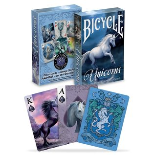 Playing Cards: Anne Strokes Unicorns