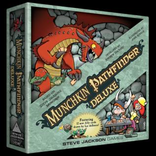 Steve Jackson Games Munchkin Pathfinder Deluxe