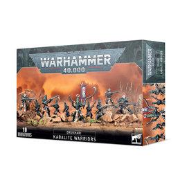 Warhammer 40K Drukhari Kabalite Warriors