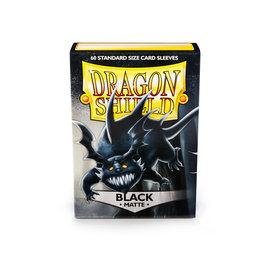 Dragon Shield Matte Black 60 Count Standard