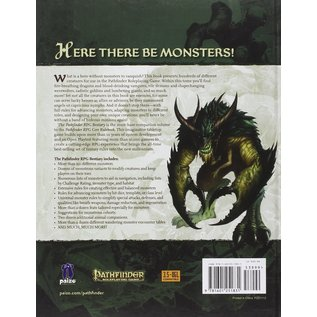 Paizo Pathfinder 1.0 Bestiary Hardcover (USED)