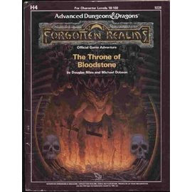 AD&D Forgotten Realms The Throne of Bloodstone