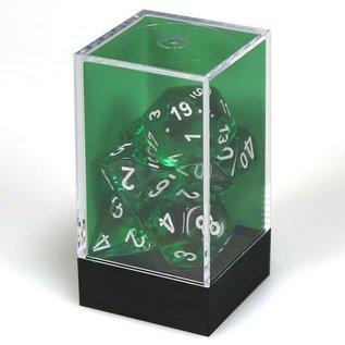 Green Translucent Dice Set
