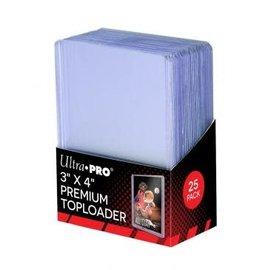 3X4 Premium Toploader 25 Count