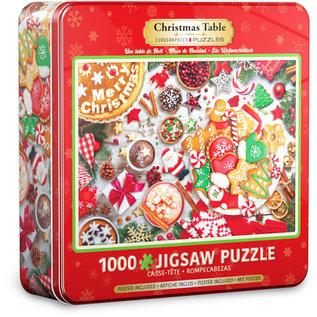 Eurographics Christmas Table Tin