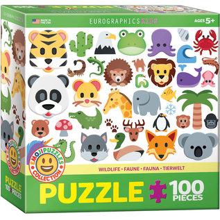 Eurographics Emojipuzzle - Wild Animals