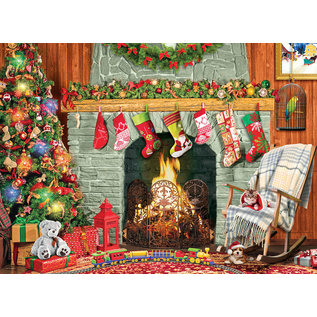 Eurographics Christmas by the Fireplace