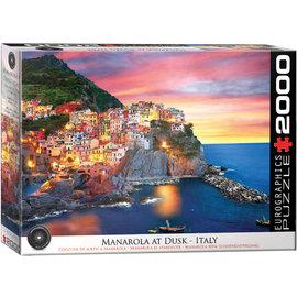Eurographics Manarola at Dusk - Italy