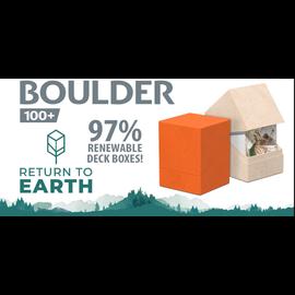 Return to Earth Boulder Natural