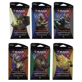 Adventures in the Forgotten Realms Theme Boosters Assorted