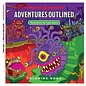 Adventures Outlined Coloring Book