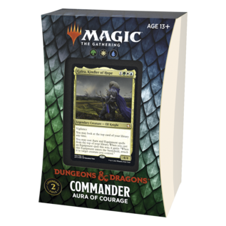 Aura of Courage Forgotten Realms Commander Deck