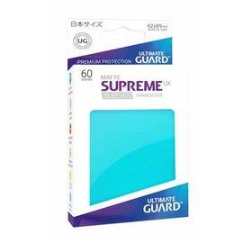 Supreme UX Aquamarine Matte Sleeves 60ct (Small)