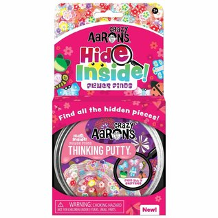 Crazy Aaron's Thinking Putty Hide Inside! Flower Finds Thinking Putty