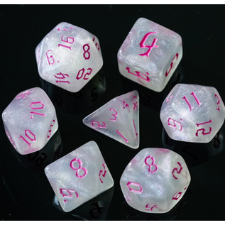 Goblin Dice Pink Opal Dice Set