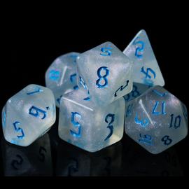 Goblin Dice Blue Opal Dice Set