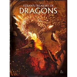 Fizban's Treasury of Dragons Hobby Cover (Oct 19th)