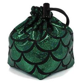 Green Mermaid Dice Bag