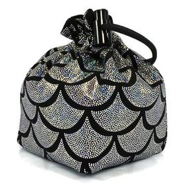 Silver Mermaid Dice Bag