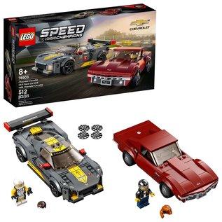 LEGO 76903 LEGO® Speed Champions Chevrolet Corvette C8.R Race Car and 1968 Chevrolet Corvette