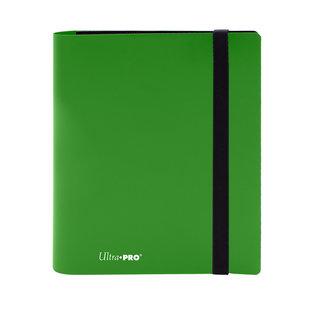 Eclipse Lime Green 4-Pocket Pro-Binder