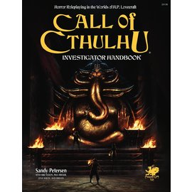 Call of Cthulhu: 7th Edition Hardcover Investigator Handbook