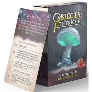 Objects of Intrigue - Underground
