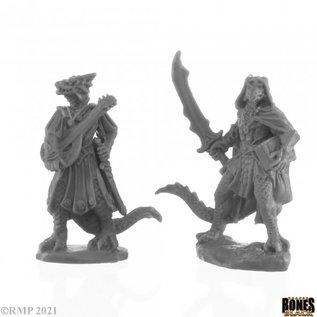 Dragonfolk Bard and Thief