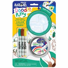 Crazy Aaron's Thinking Putty Bear Doodle Putty