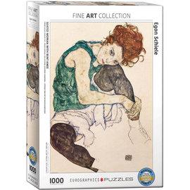 Eurographics The Artist's Wife - Schiele *