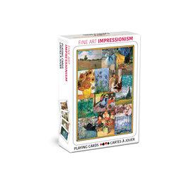 Eurographics Fine Art Impressionism Playing Cards
