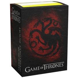 Dragon Shield 100 Brushed Art Targaryen