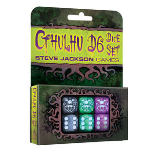 Steve Jackson Games Cthulhu D6 Dice Set