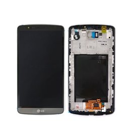 LG LCD DIGITIZER ASSEMBLY WITH FRAME LG G3