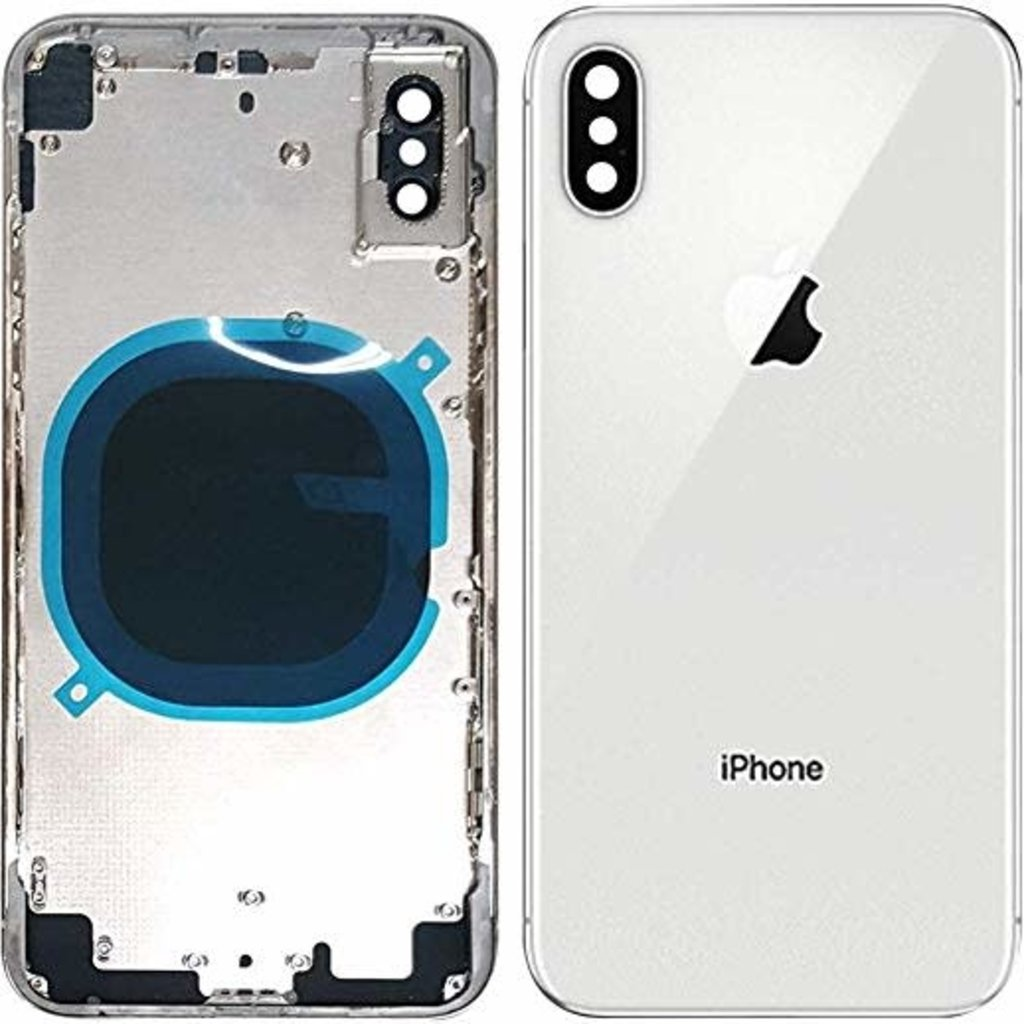 Apple BACK HOUSING POUR IPHONE X BLANC WHITE