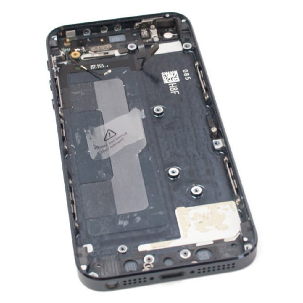 Apple BACK HOUSING NOIR BLACK POUR IPHONE 5