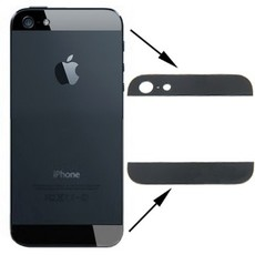 Apple BACK LENS BLACK IPHONE 5