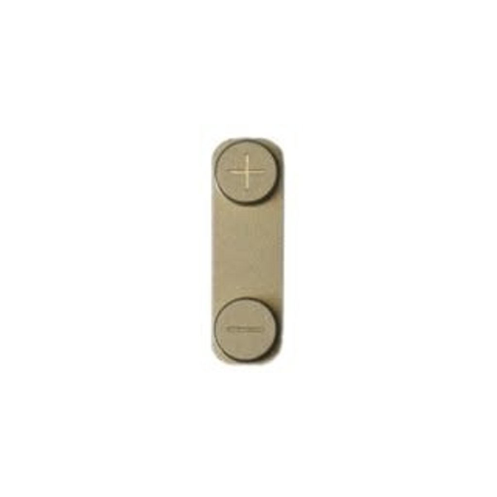 Apple BUTTON BOUTON VOLUME POUR IPHONE 5 OR GOLD