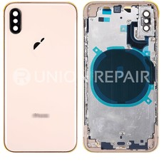 Apple BACK HOUSING COMPLETE POUR IPHONE XS MAX OR GOLD