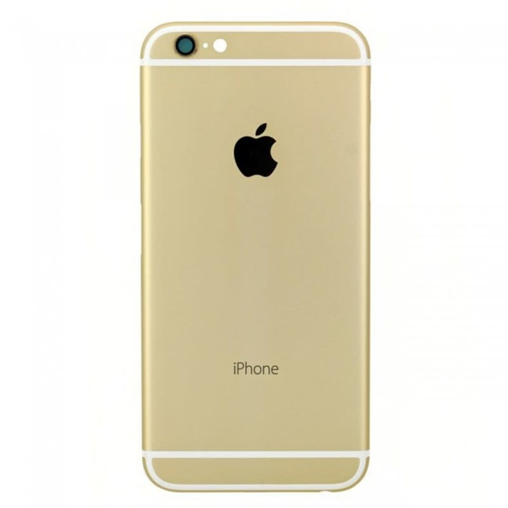 Apple BACK HOUSING POUR IPHONE 6  OR GOLD