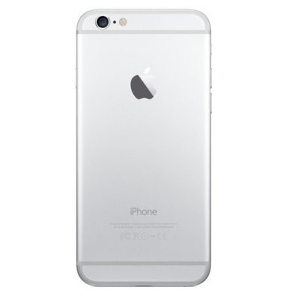 Apple BACK HOUSING POUR IPHONE 6  SILVER ARGENT