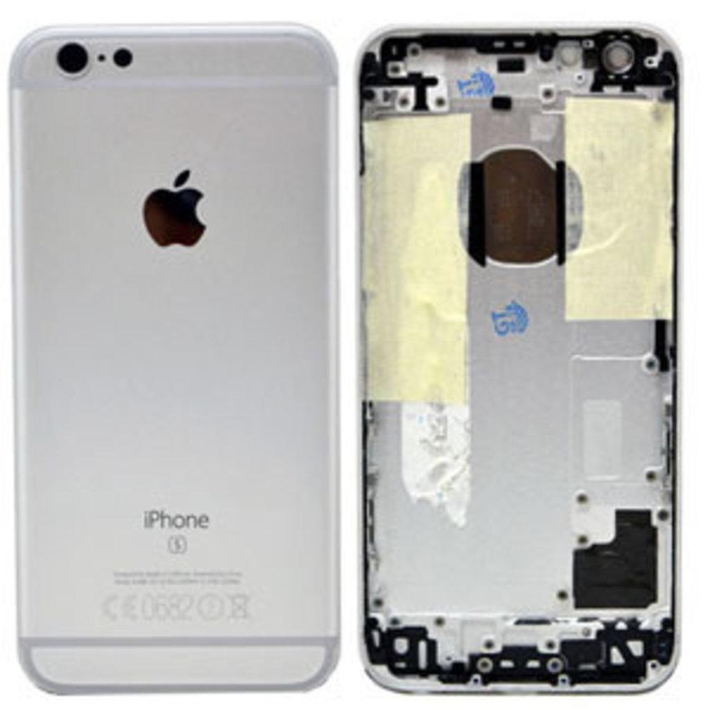 Apple BACK HOUSING COVER NOIR BLACK IPHONE 6S