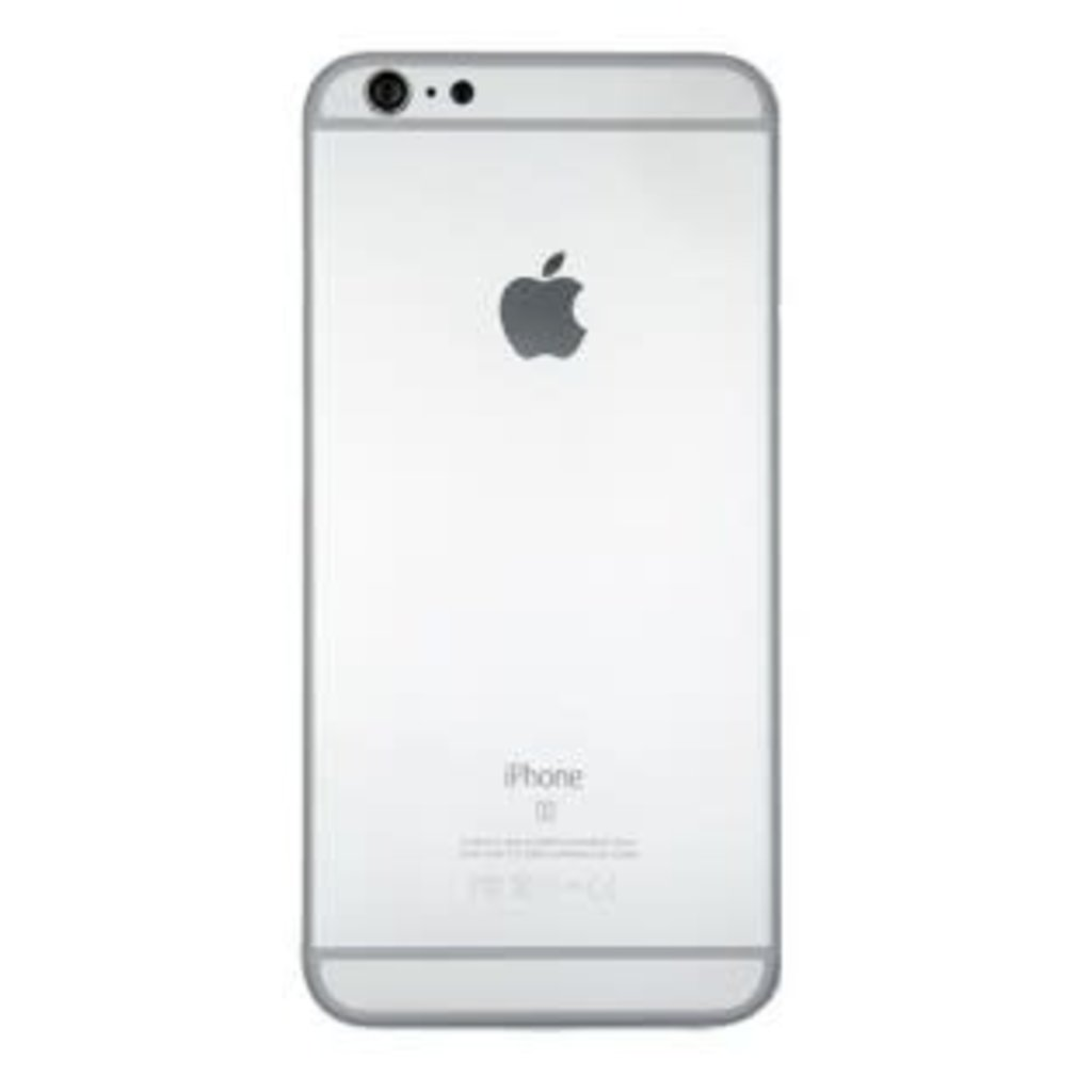 Apple BACK HOUSING COVER ARGENT SILVER IPHONE 6S