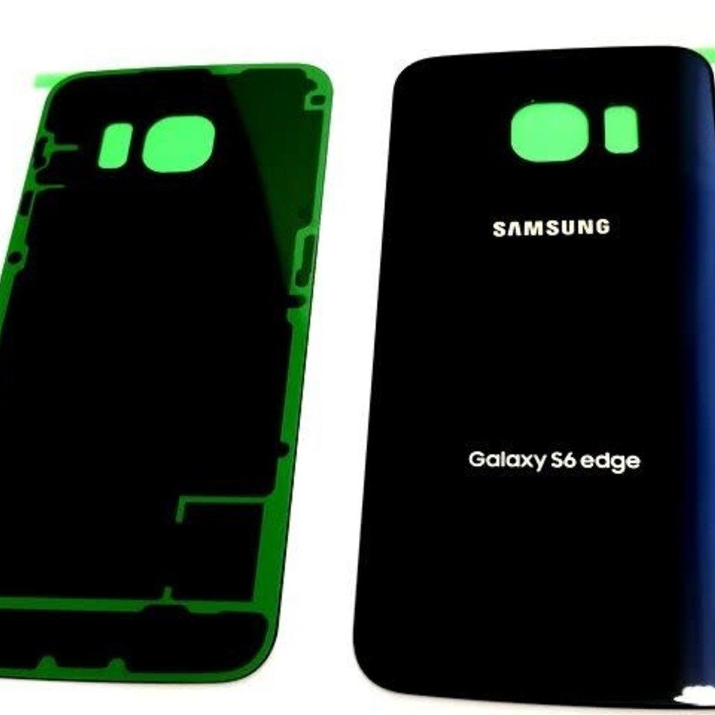 Samsung BACK COVER BATTERY SAMSUNG S6 EDGE BLUE BLEU