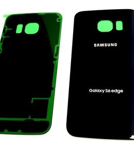 Samsung BACK COVER BATTERY SAMSUNG S6 EDGE BLUE BLEU
