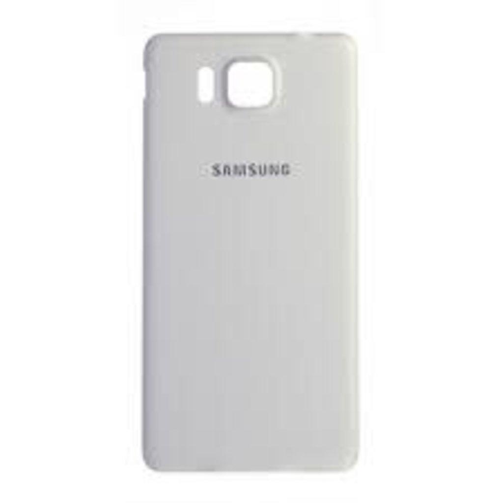 Samsung BACK COVER BATTERY SAMSUNG GALAXY ALPLHA BLANC