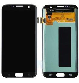 Samsung LCD DIGITIZER ASSEMBLY NOIR BLACK SAMSUNG GALAXY S7 EDGE